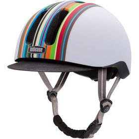 Nutcase Metroride Casco de bicicleta, technicolor matte